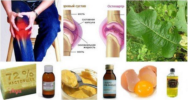 народные средства для лечения суставов плеча