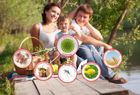 семья и аллергены