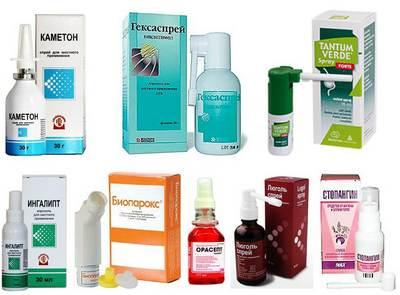 лекарства от тонзилита