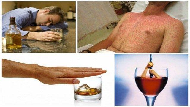 Как проявляется аллергия на алкоголь: красные пятна и другие симптомы